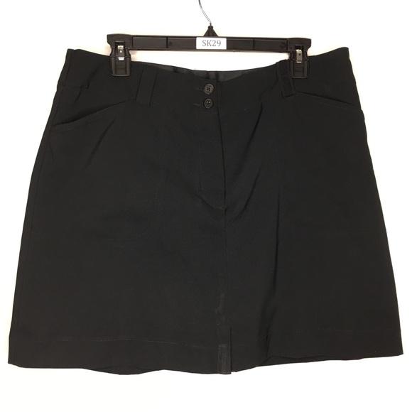 Nike Sz 12 Modern Rise Golf Skirt Fit Dry Pockets
